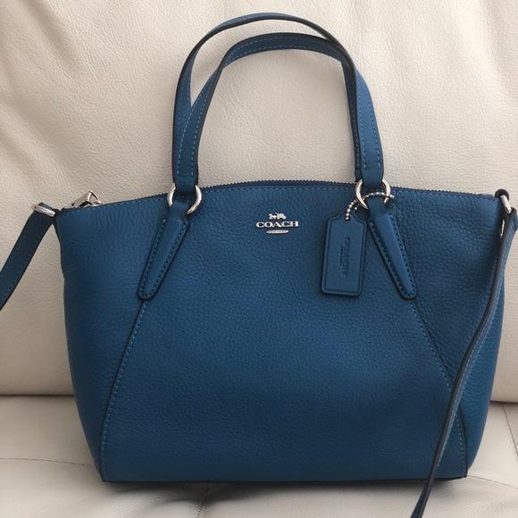 842cbda73 Coach Bags | Pebble Leather Mini Kelsey Satchel Crossbody | Poshmark